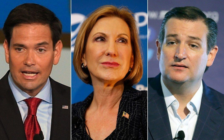 Rubio, Fiorina, and Cruz up among evangelical insiders