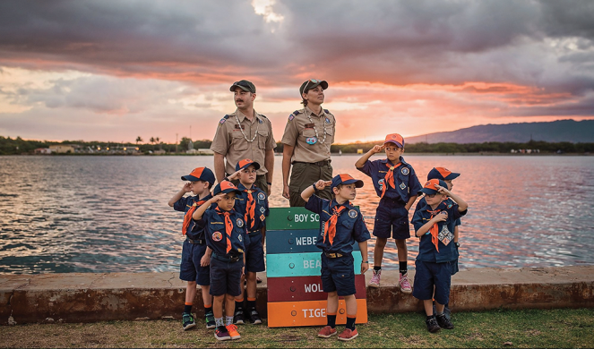 A photo from the Boy Scouts of America Facebook page