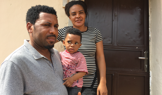 Oliver Nwokorie and his family hesitated before accepting the vaccine.
