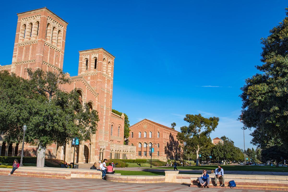 The UCLA campus