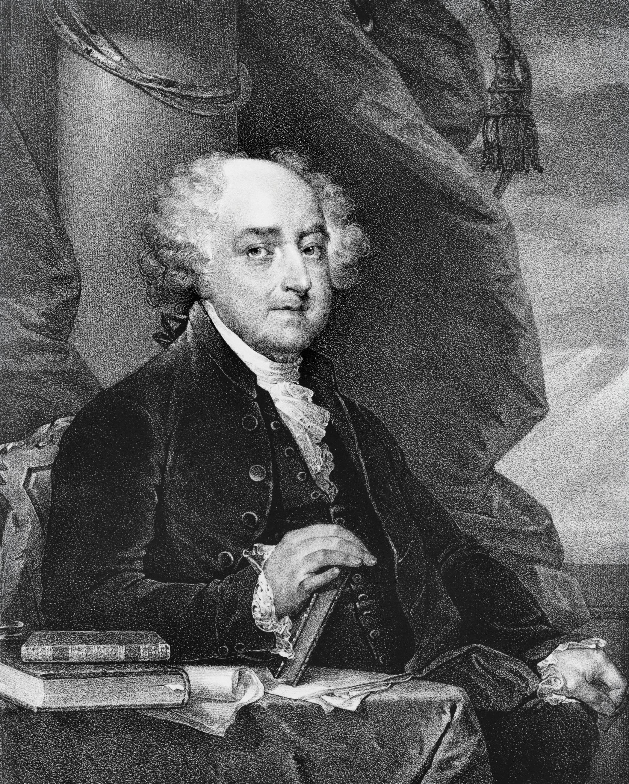 Former President John Adams