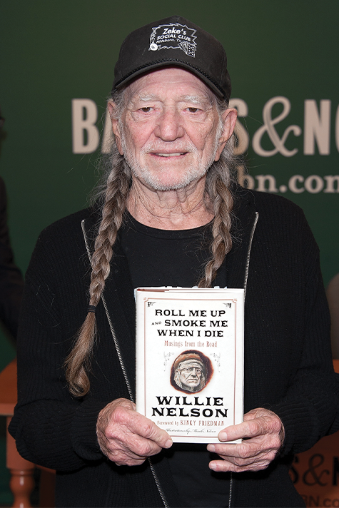 Willie Nelson in 2012 promotes a new book