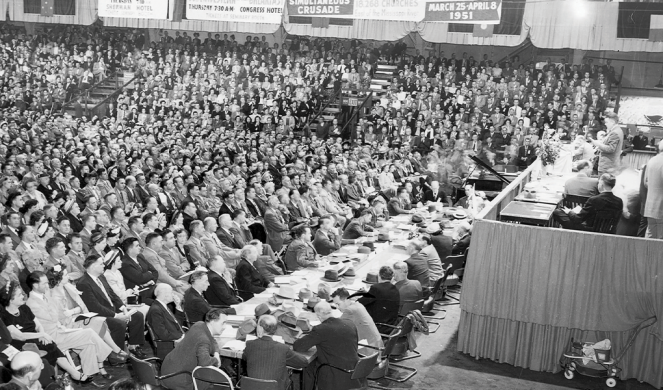 The 1950 annual meeting of the Southern Baptist Convention in Chicago
