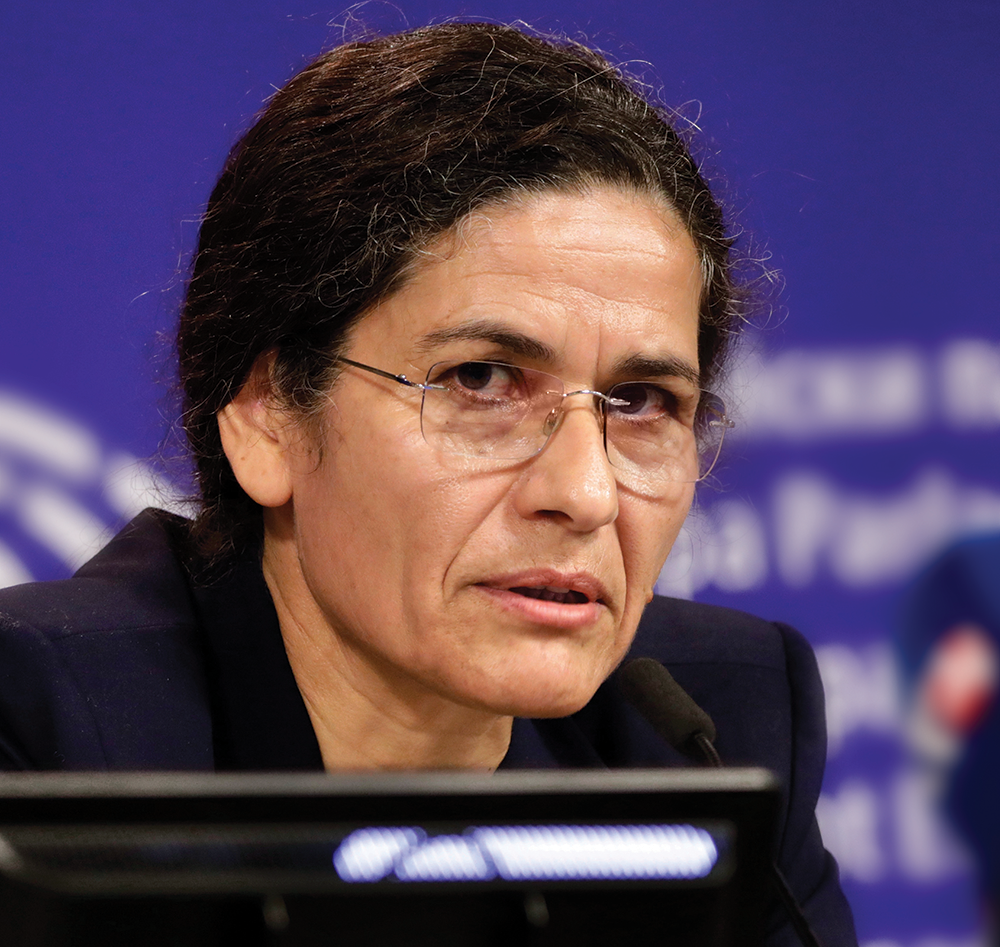 Ilham Ahmed, co-chair of the Executive Committee of the Syrian Democratic Council