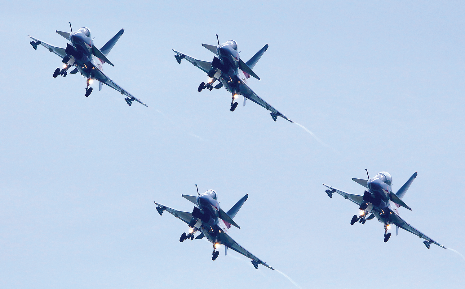 J-10 aircraft, as demonstrated by the Chinese aerobatic team during an airshow