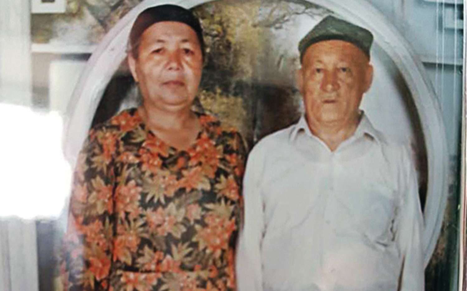 Isa's mother and father, Ayhan and Isa Memet, in an undated photo.