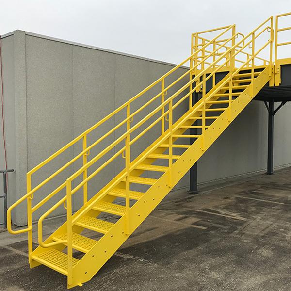straight stair