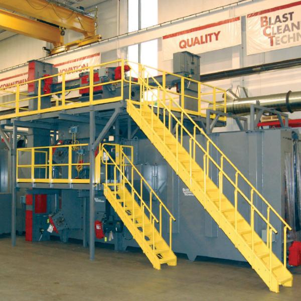 equipment mezzanine