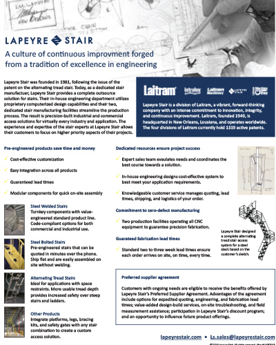 About Lapeyre Stair