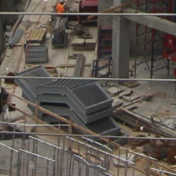 modular metal stairs