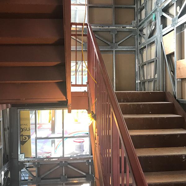modular steel stairs