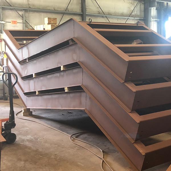 modular metal staircase