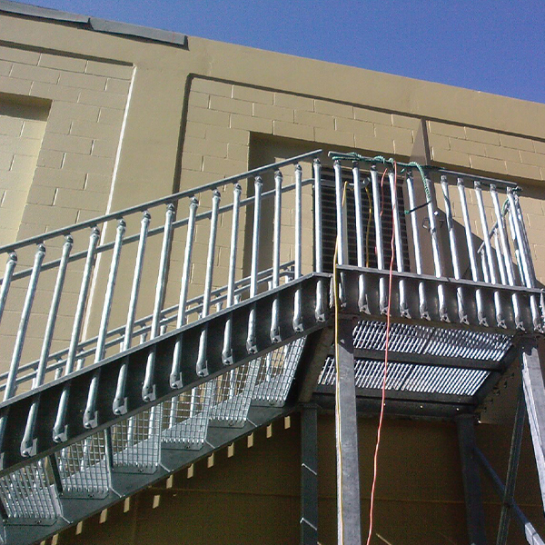 IBC bolted access stairs