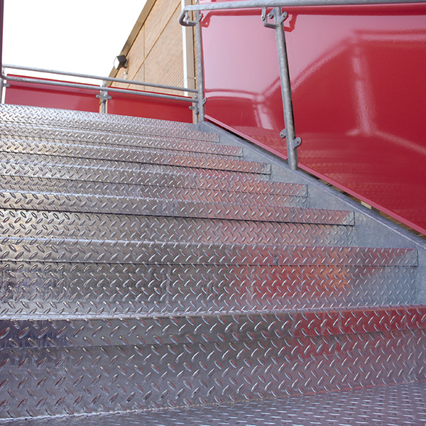 bolted stairs