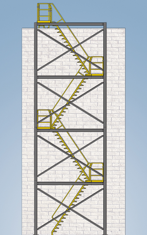 modular stair tower