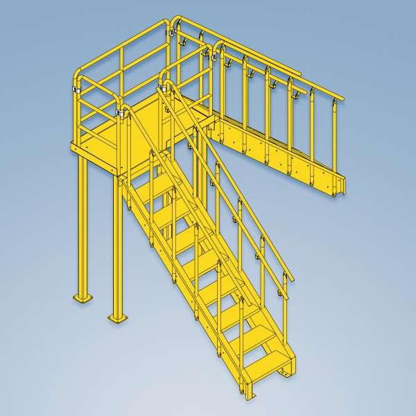 custom built work platforms