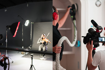 Shooting Photography and Video In Studio or On Location: 8 Things to Consider