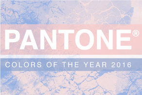 Pantone Colors of the Year: Rose Quartz and Serenity
