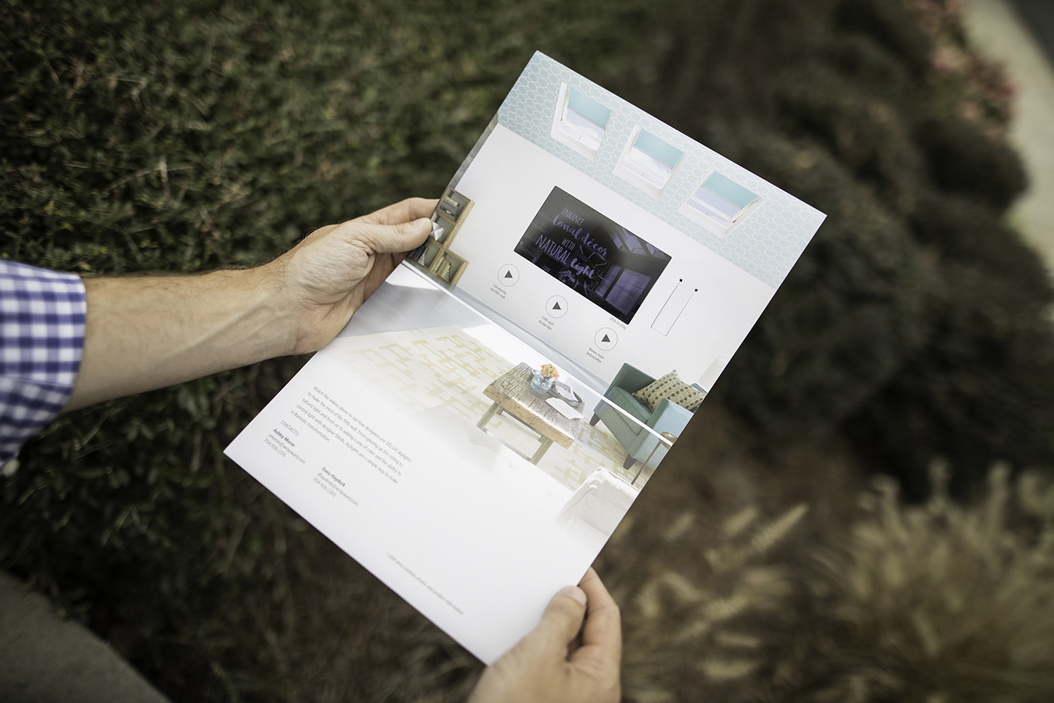 VELUX video direct mail