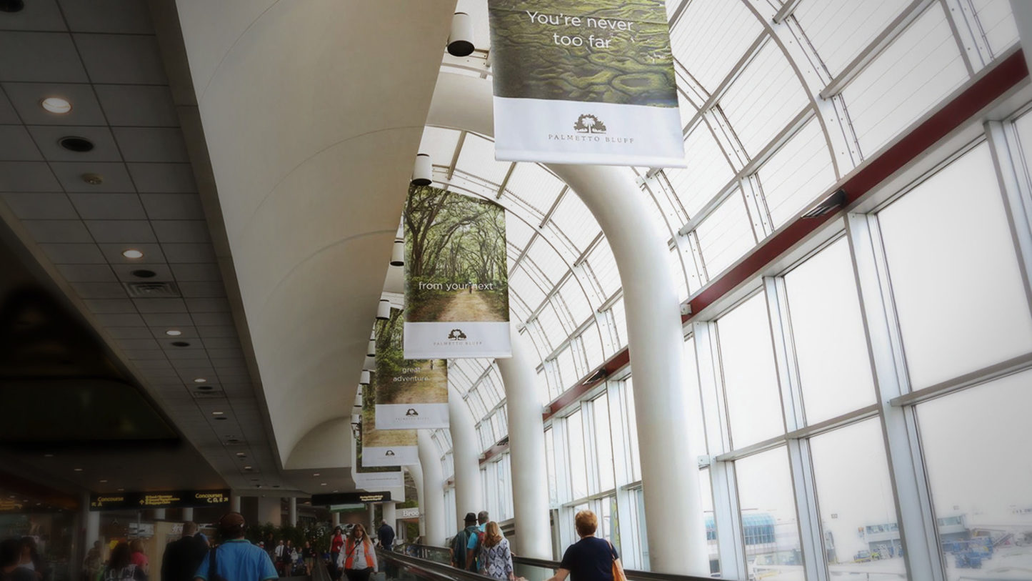 Palmetto Bluff Airport Banners