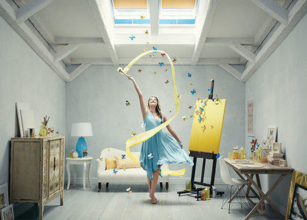 Reaching the height of drama with an imaginative campaign for VELUX Skylights.