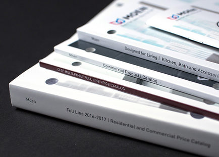 Elevating an annual catalog with a sleek, modern look.