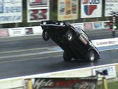 Pinks 1320X Wheelstand Second Pass by Keith Falcone