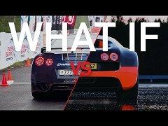 Bugatti  Veyron <b>VS</b> Nissan  GTR
