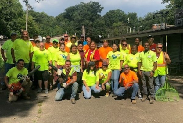 Chicago RV Resort Clean Up Summer of 2019